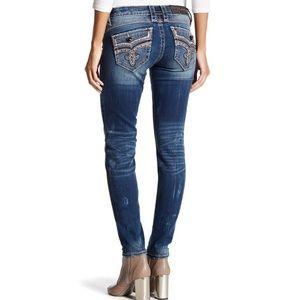 Rock Revival Ellor Distressed Skinny Jeans